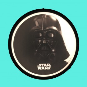 Luminária de Parede Sign Star Wars Vader