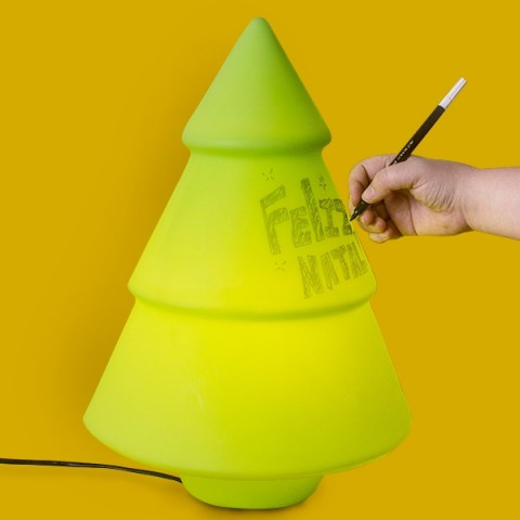 Luminária Árvore de Natal - recados