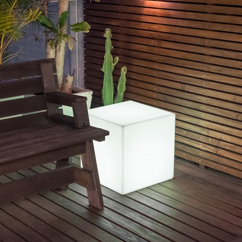 Banco Iluminado Box com LED