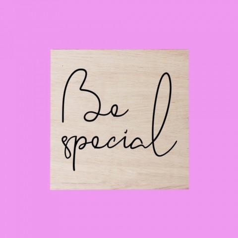 Quadrinho Be Special