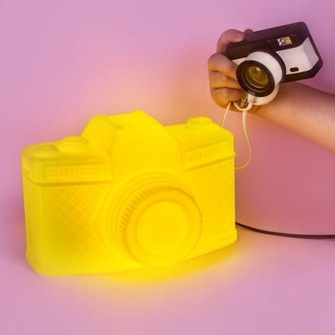Luminária Câmera