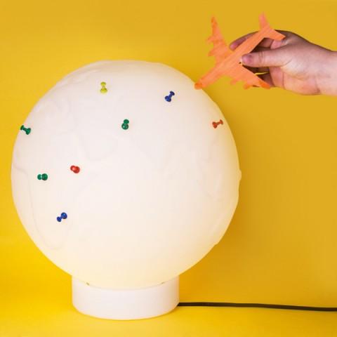 Luminária Globo Push Pin