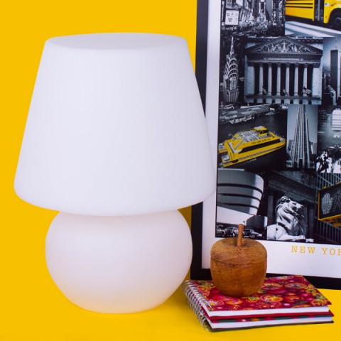 Abajur Lampe Branco