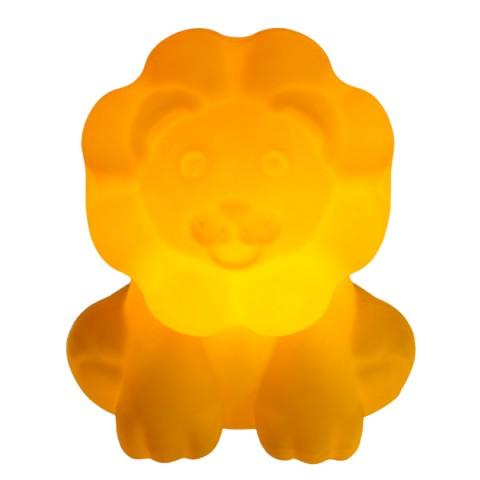 Luminária Leãozinho Amarelo