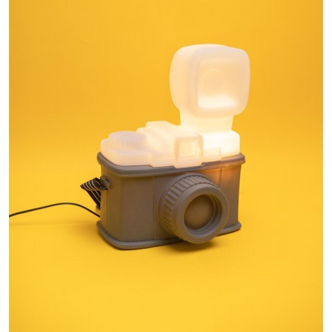 Luminária Câmera Retrô