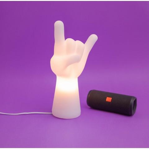 Luminária Mão Rock