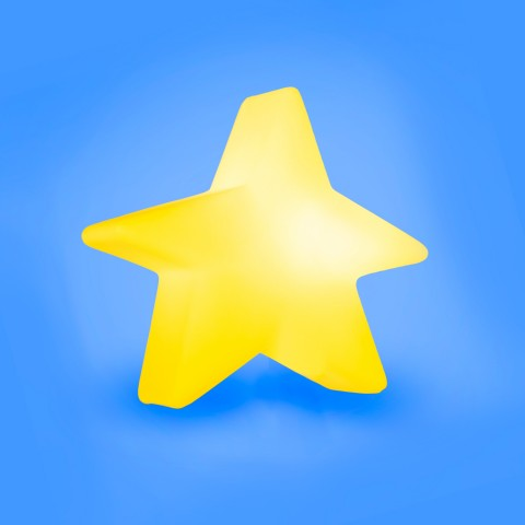 Luminária Estrela Estilizada