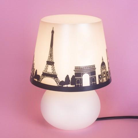 Abajur Micro Lampe Capa Paris