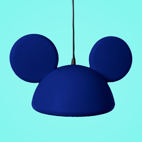 Pendente Aberto Orelhas Mickey Azul
