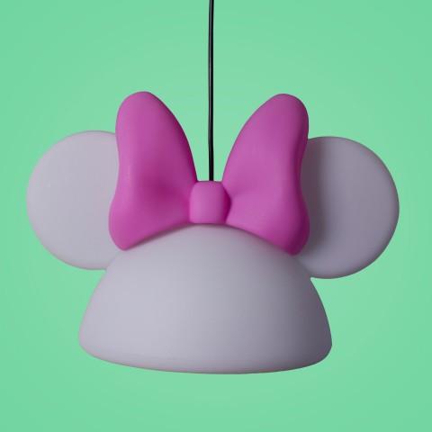 Pendente Aberto Orelhas Minnie Branco