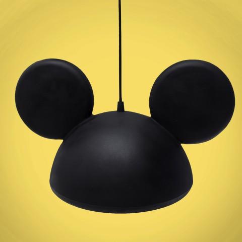 Pendente Aberto Orelhas Mickey Preto