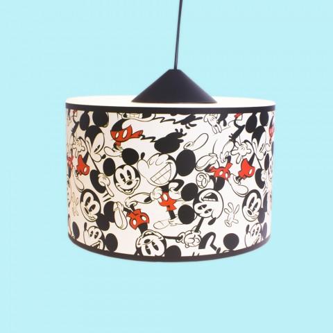 Luminária Pendente Pop Mickey
